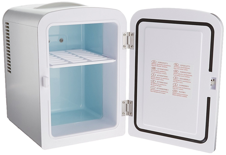 amazon com uber appliance ub ch1 uber chill mini fridge 6 can