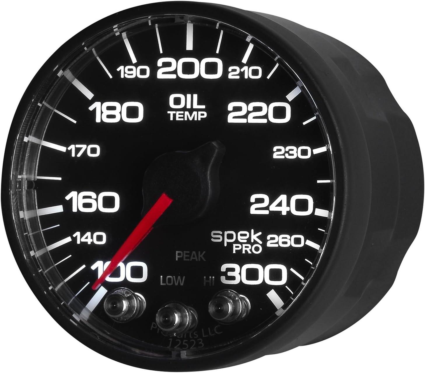 AUTO METER P522328 Pro-Nascar 2-1//16 Oil Temp ECU 100-300`F Spek BFB