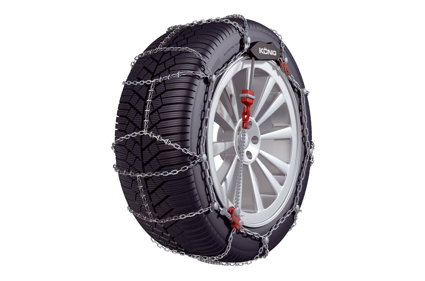Kö nig CL-10 060 - Snow Chains, 2 Pieces Thule GmbH. 2004255060