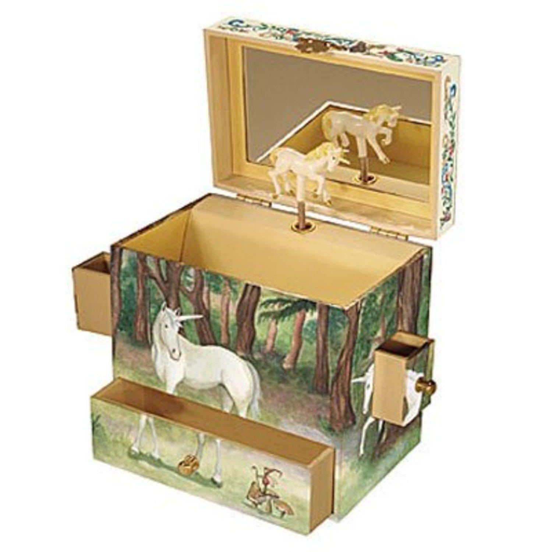 Child's Unicorn Musical Jewelry Box