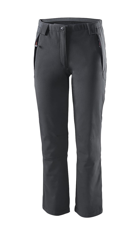 /Pantaloni Softshell // Black Crevice/