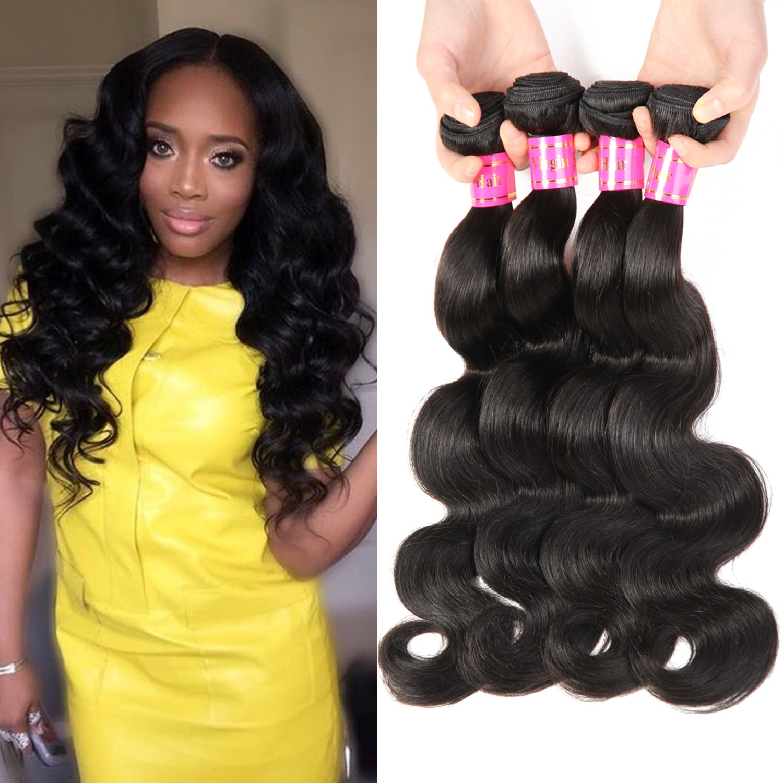 Amazon Bestsojoy Brazilian Straight Hair 3 Bundles 8a Virgin