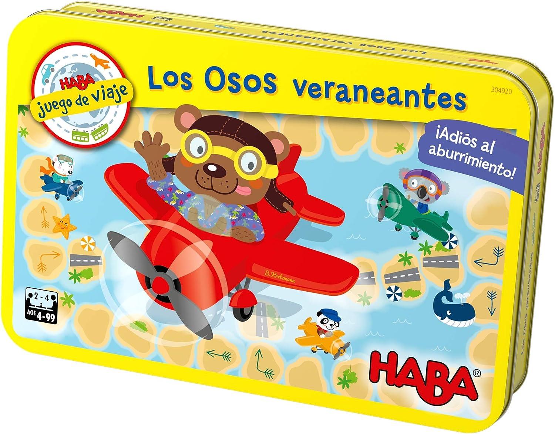 HABA- Juego de Mesa, Los Osos Veraneantes, Multicolor (Habermass ...