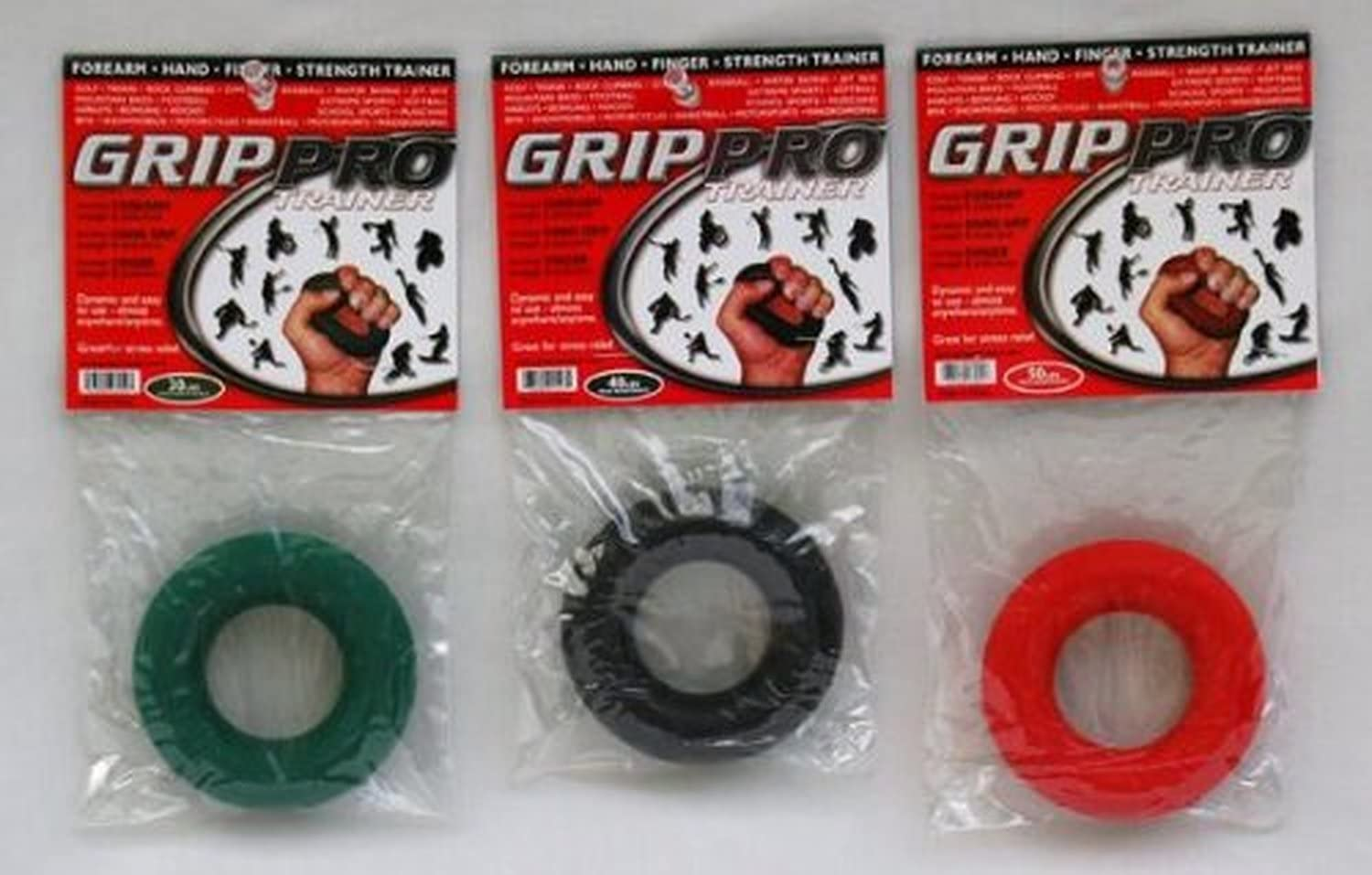 Grip Pro Trainer Hand Grip Forearm Strength Gripper