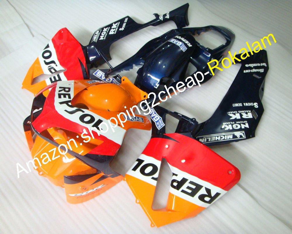 Spritzguss Factory Motorrad Body Kits f/ür CBR600RR F5 2003 2004 cbr600rrf5 CBR 600 RR cbr-600 600RR 03 04 ABS Motorrad Karosserie Zubeh/ör Verkleidung Kit