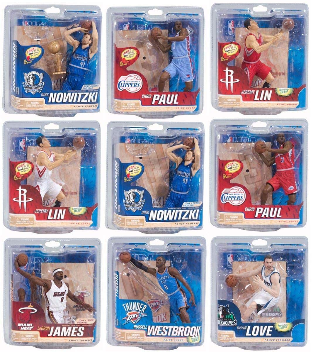 Image of McFarlane Toys NBA Sport Picks NBA Multiple Players, Team Colors, One Size