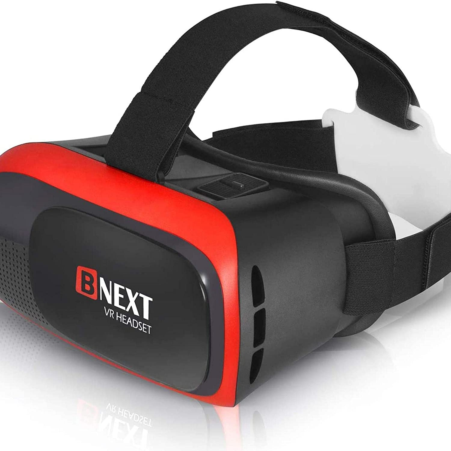BNEXT VR Headset Compatible with iPhone & Android Phone - Universal Virtual Reality Goggles - Play Your Best Mobile Games 360 Movies with Soft & Comfortable New 3D VR Glasses