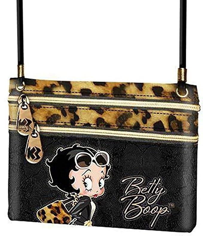 Betty Boop - Bolso bandolera deluxe con diseño de Betty Boop ...