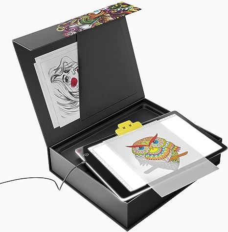 Caja de luz de calcetín – suministros artísticos – arte y manualidades para niñas – caja de mesa ligera – manualidades para niños: Amazon.es: Juguetes y juegos
