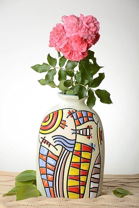 275 & Amazon.com: Unusual Beautiful Vase Stylish Flower Vase ...
