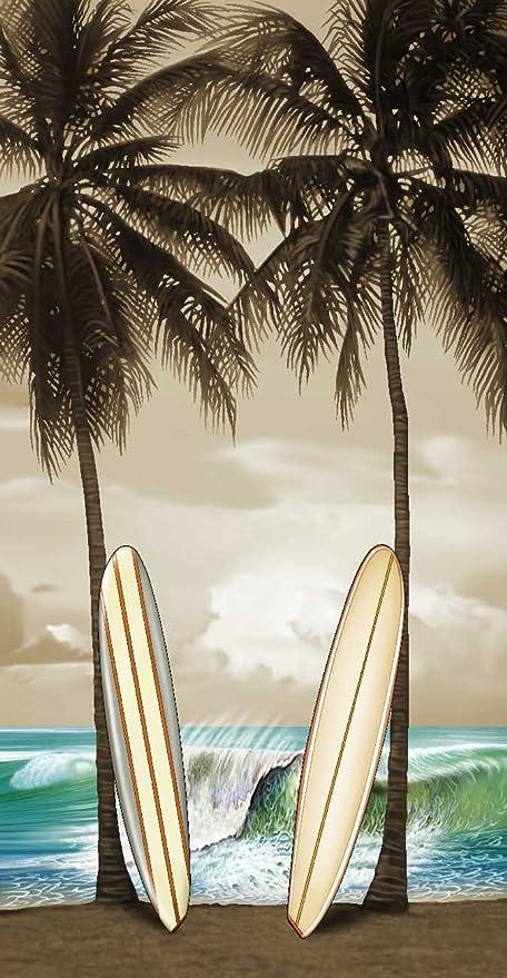 Tabla de surf toalla toalla de playa de Hawaii de extrañar
