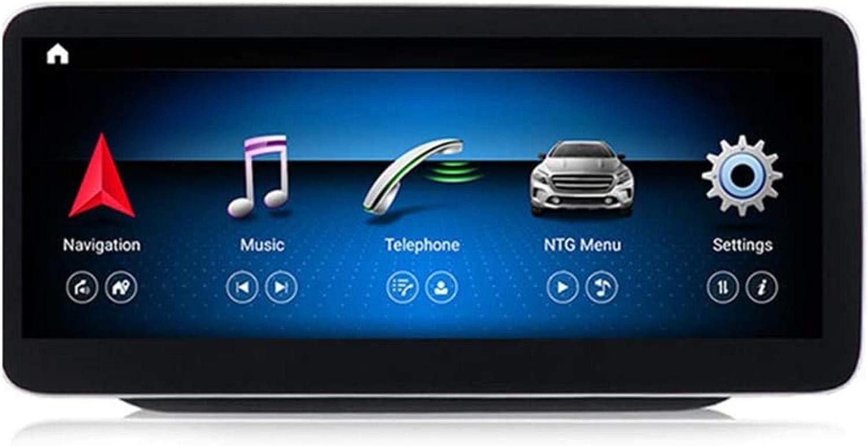 Estéreo Doble DIN Car conexión Bluetooth USB cinturón estéreo Digital de Radio de Radio Espejo Sygic GPS Navigation Tráfico Navigationdroid para Mercedes-Benz Clase B W246 2011-2018, N200.