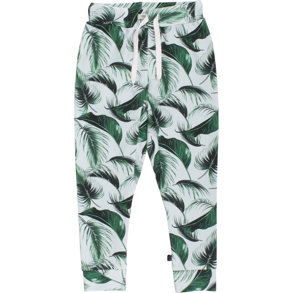 Fred's World by Green Cotton Palm Sweat Pants, Pantaloni Bambino 1535038400