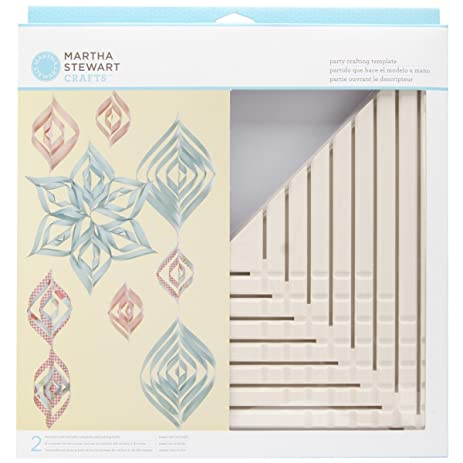 Amazon.com: Martha Stewart Crafts Large Triangle Ornament Template ...