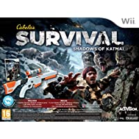 Nintendo Wii Cabelas Survival Shadows Of Katmai Bundle - NINTENDO