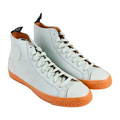 PF Flyers Todd Snyder Rambler Hi Mens White Nubuck High Top Sneakers Shoes 7