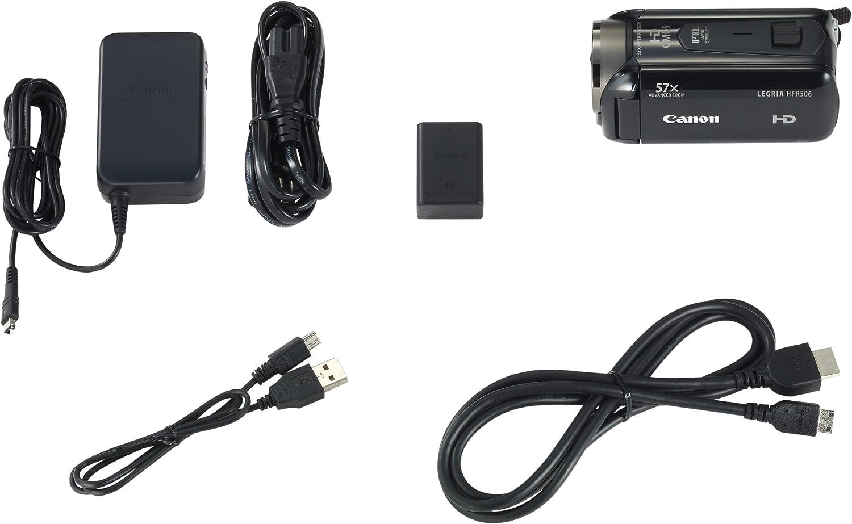 Canon Legria Hf R506 High Definition Camcorder Black Camera Photo