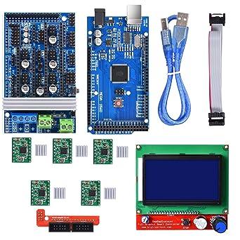 BIQU Junta de Control Mega2560 + LCD 12864 Graphic Smart pantalla ...