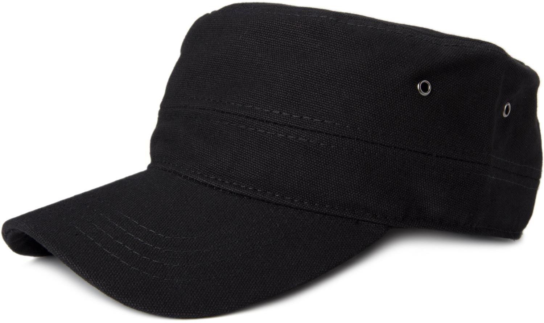 styleBREAKER berretto in stile militare in tela di cotone robusta, regolabile, Unisex 04023020 colore:Antracite