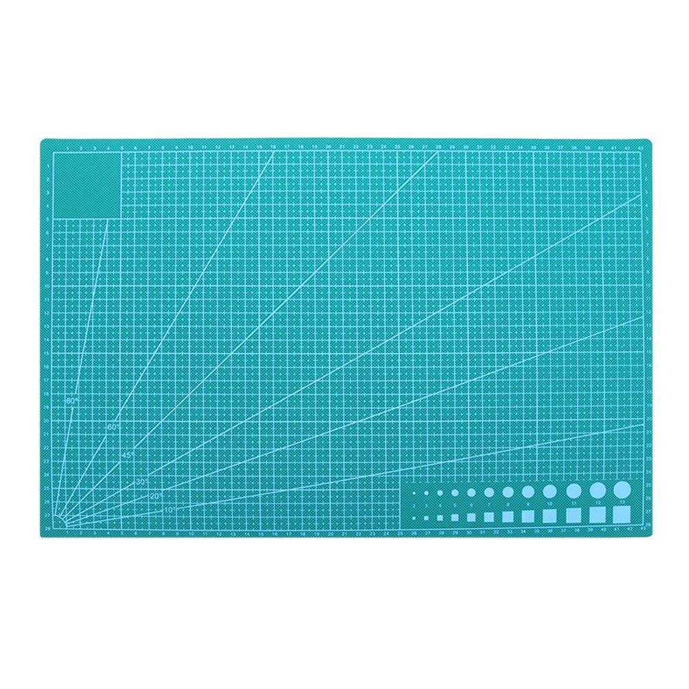 Demiawaking Tappetino da Taglio Autorigenerante in PVC Tappetino per Patchwork DIY Utensile per Tagliare la Carta (A5:21 X 15 cm)