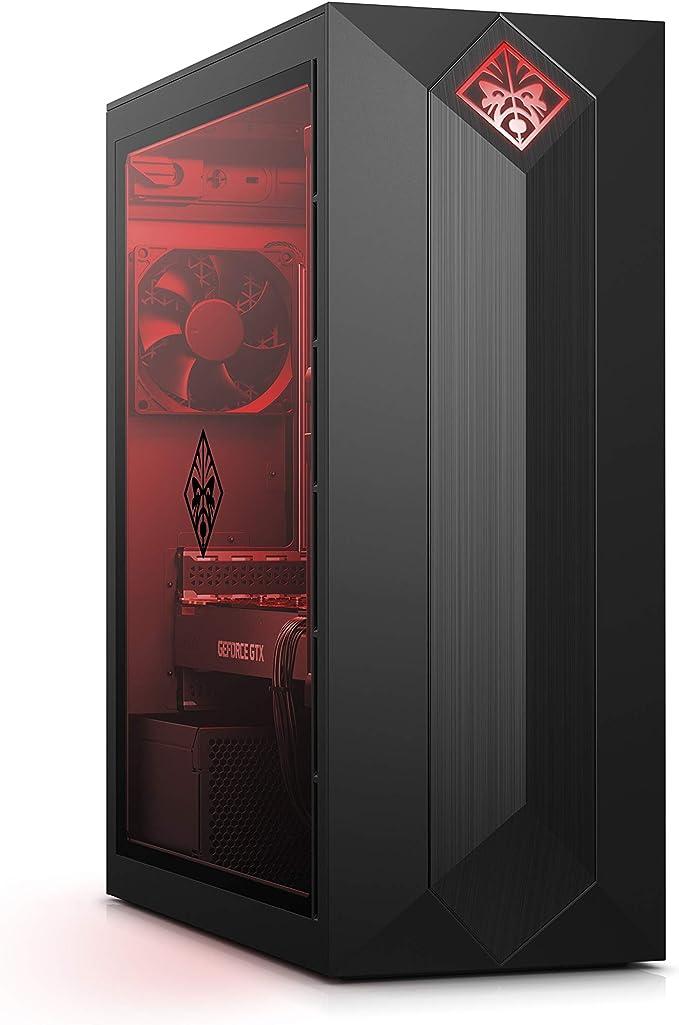 HP OMEN Obelisk 875-0002ns - Ordenador de Sobremesa Gaming (Intel Core i5-8400, 8 GB de RAM, 1 TB HDD y 128 GB SSD, NVIDIA GeForce GTX 1050, sin Sistema Operativo) Color Negro