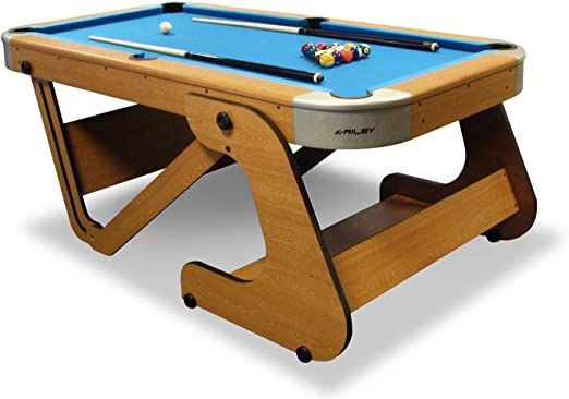 Riley rpt-6 F Super tamaño plegable mesa de billar (6 6 ...