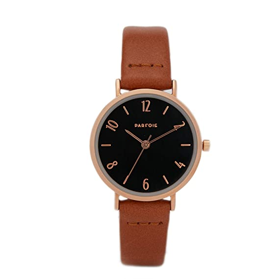 Parfois - Reloj Camel - Mujeres - Tallas Única - Camel: Amazon.es: Relojes