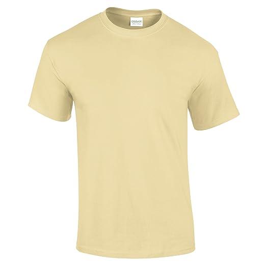 459af69b Gildan Ultra Cotton 6 oz. T-Shirt, Small, CORNSILK