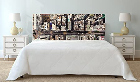Headboard Pvc Hong Kong S Bird Sight 100 Cm X 60 Cm Landscape