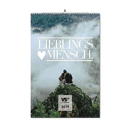 Visual Statements Wandkalender 2019 Kalender Din A3 Bilder Mit Sprüchen Verschiedene Bildmotive Dekoration Zum Aufhängen Monats Wandkalender