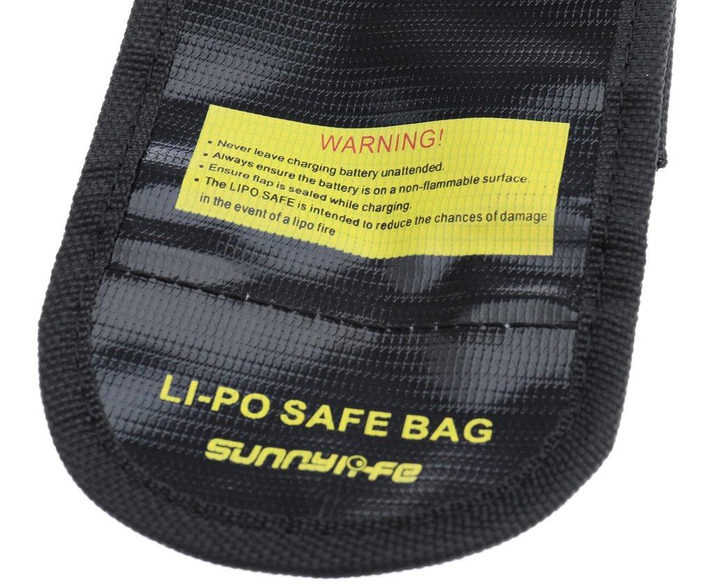 1//2//3 pi/èces Explosion de batterie s/ûre Sac LiPo Guard Fire protection pour DJI Mavic Pro