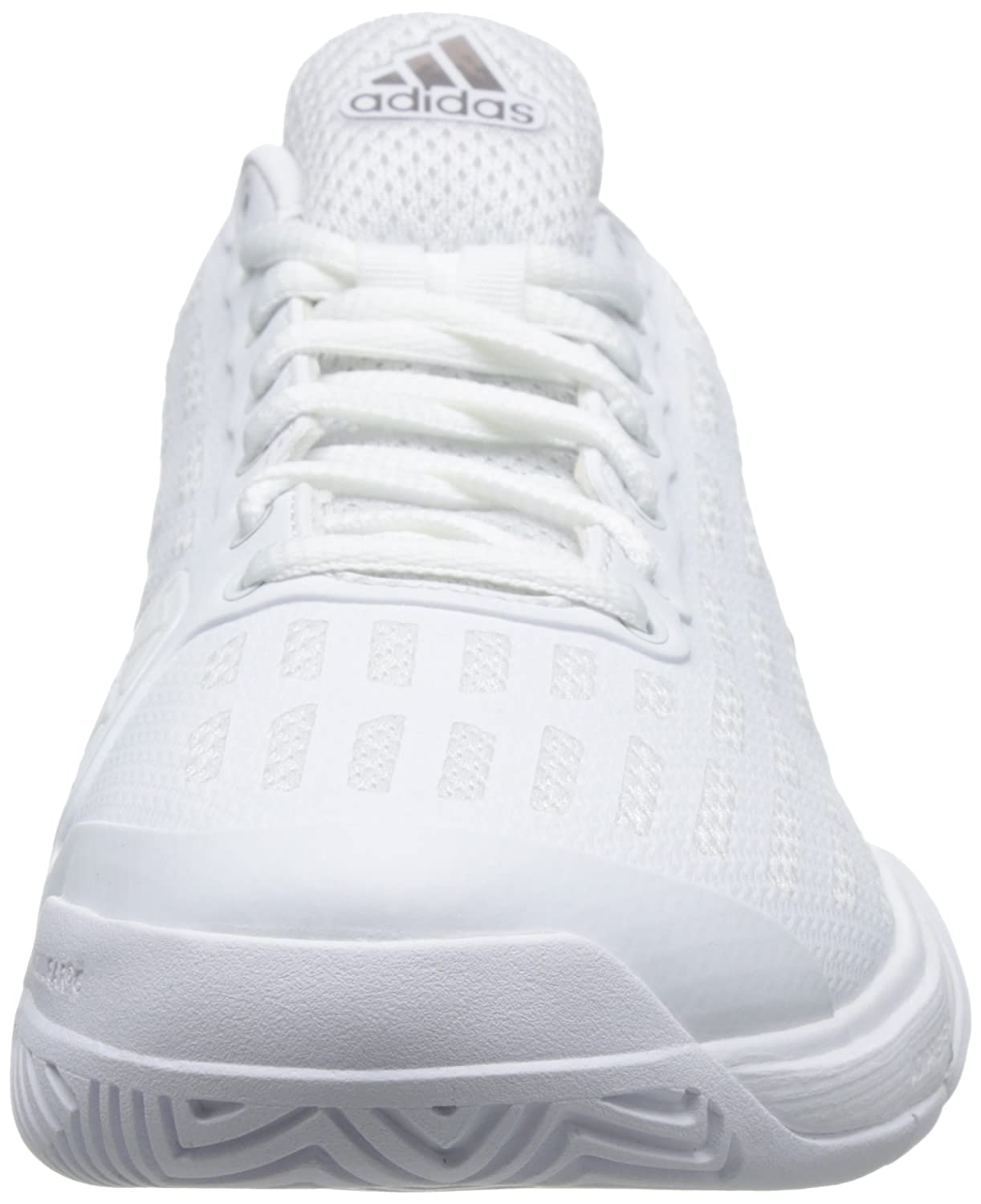 Amazon.com | adidas Performance Mens Barricade 2016 Tennis Court Shoes Sneakers - White - 8.5 | Tennis & Racquet Sports