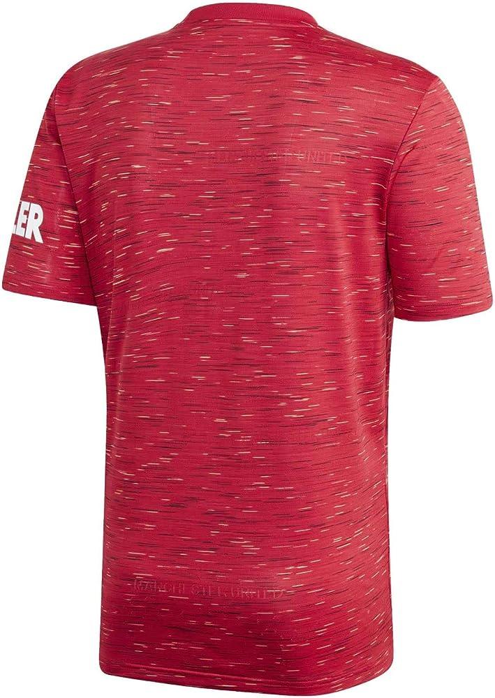 adidas MUFC H JSY Camiseta, Hombre, rojrea, XS: Amazon.es: Deportes y aire libre