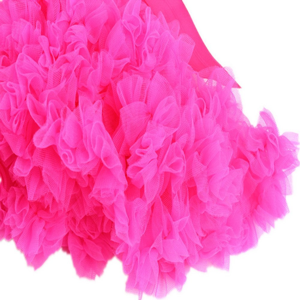 Collager Baby Girls Fluffy Pettiskirt Princess Tutu Chiffon Skirt
