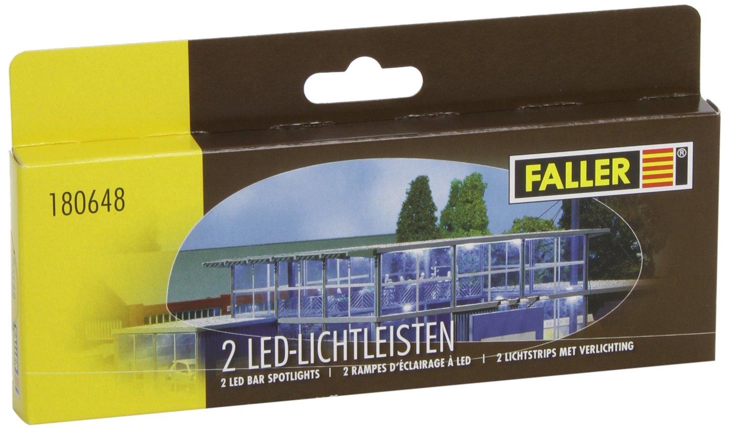 FALLER 180648 - 2 LED-Lichtleisten: Amazon.de: Spielzeug
