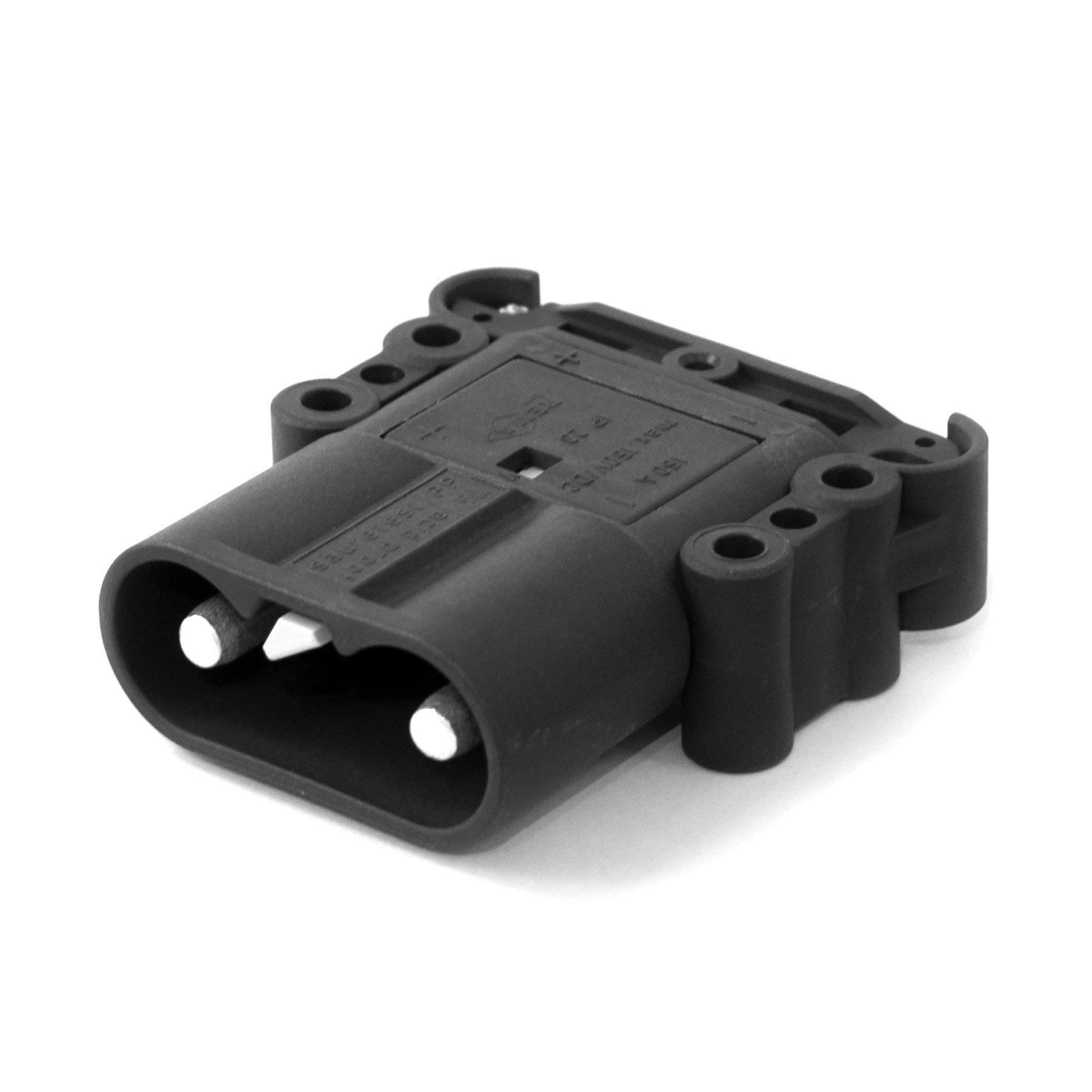 DIN 160A 150V Plug with 50 mm2 Main Contacts, Acid Resistant