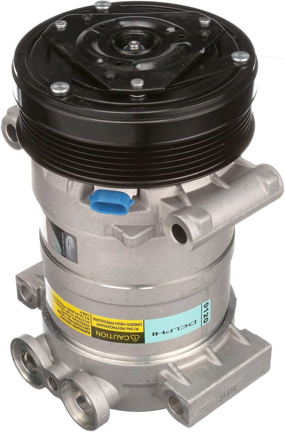Delphi CS20073 New Air Conditioning Compressor