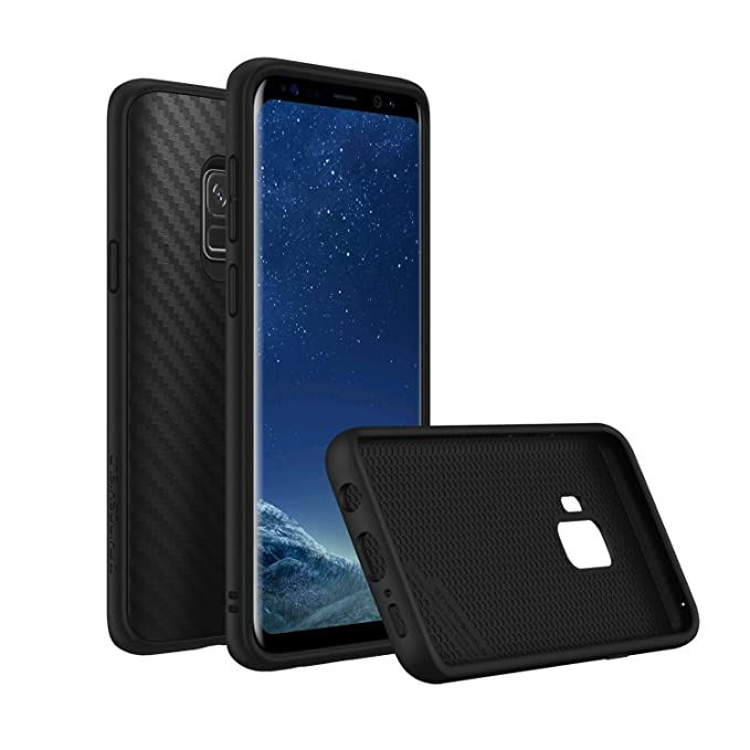 finest selection 22cb0 312bc RhinoShield Case for Galaxy S9 [SolidSuit] | Shock Absorbent Slim Design  Protective Cover - Compatible w/Wireless Charging [3.5M / 11ft Drop ...