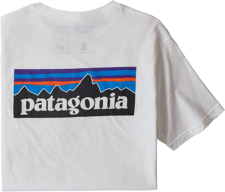 Hombre Patagonia Ms P-6 Logo Organic T-Shirt Camiseta