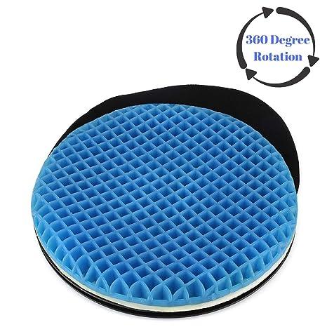 Amazon.com: Cojín de gel giratorio de alta calidad para ...
