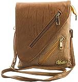 Voaka Women's Designer Sling Bag (Available in Tan, Beige, Chrome, Brown, Red, Pink, LBrown & DBrown) (LBrown)