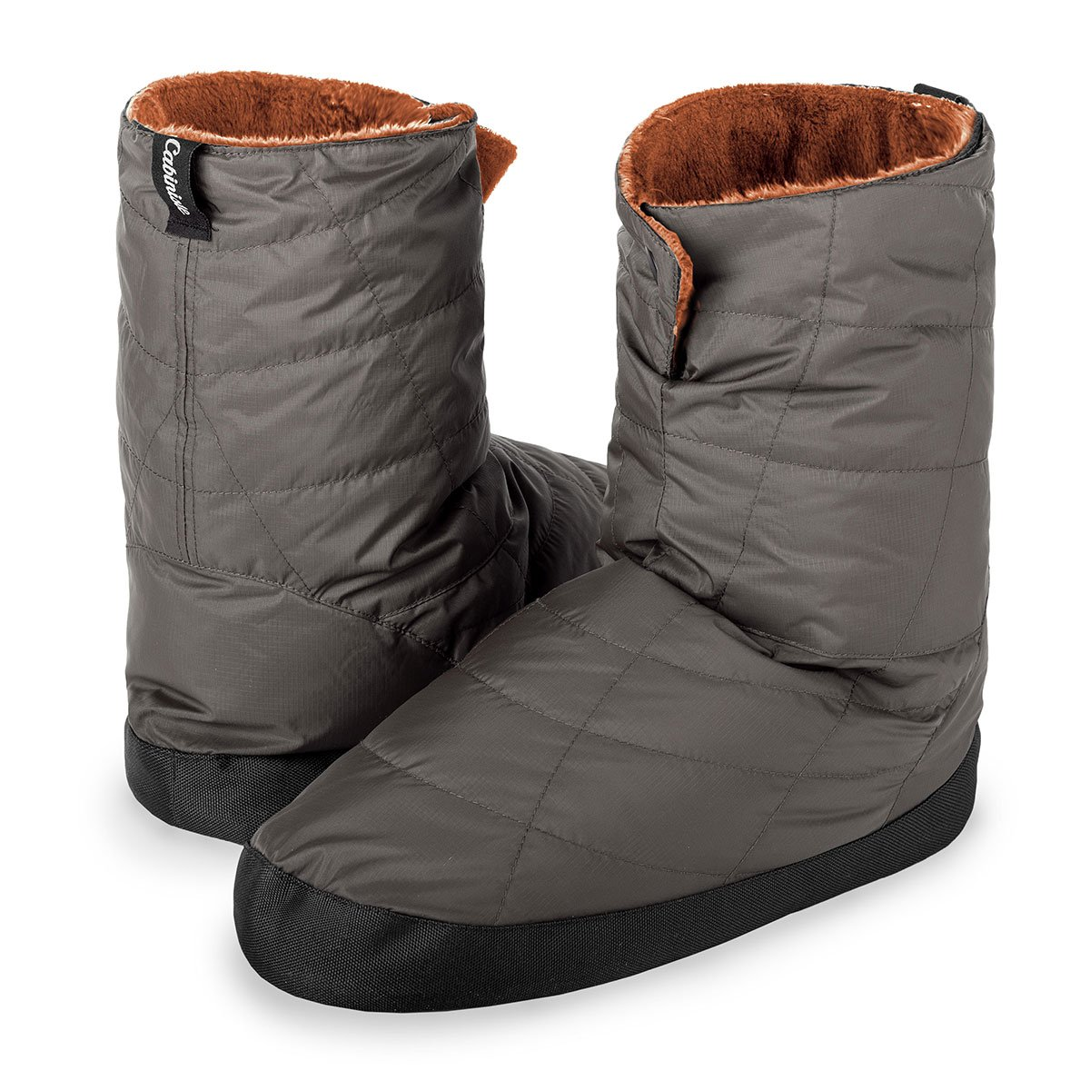 Cabiniste Men's Down Insulated Bootie (Medium, Pewter/Copper) by Cabiniste (Image #2)