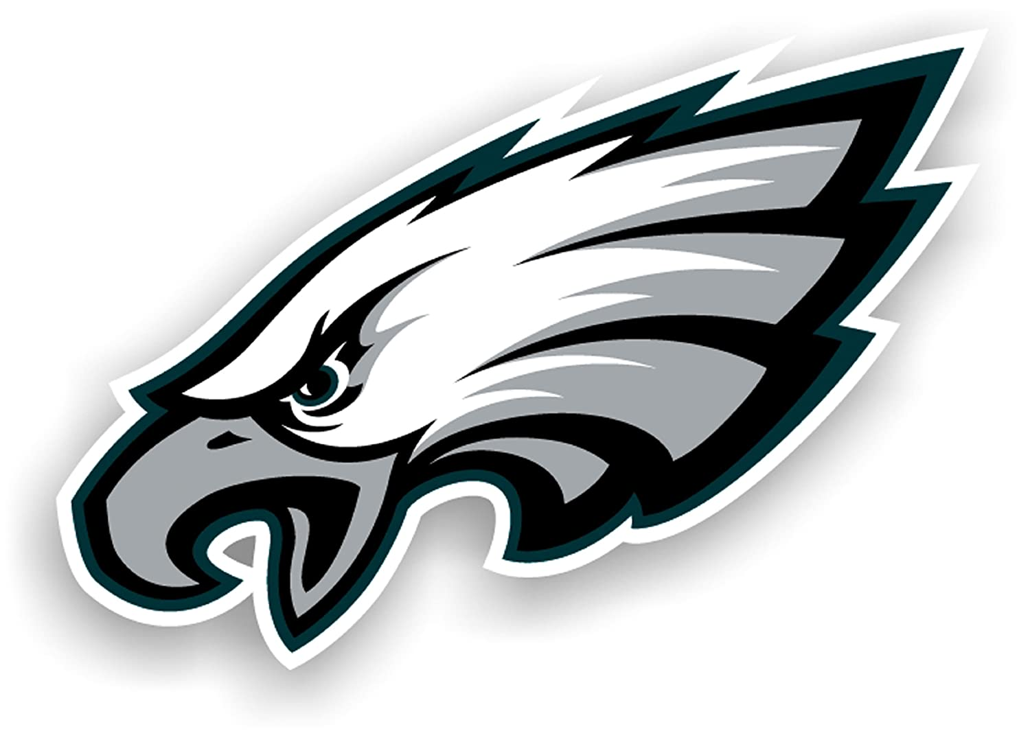 Amazon Nfl Philadelphia Eagles 12 Inch Vinyl Logo Magnet
