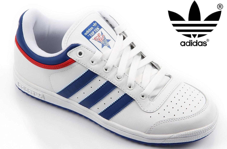 adidas - Top Ten - 581051-44 2/3-10.5 - Blanc Baskets Mode ...