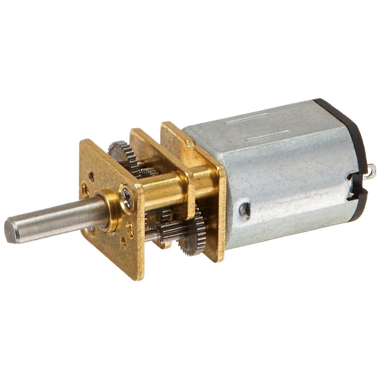 100RPM DC Gear Motor - SODIAL(R)JA12-N20 Model DC 12V 100RPM Torque Gearbox Micro Gear Box Motor Silver+Gold SODIAL (R)
