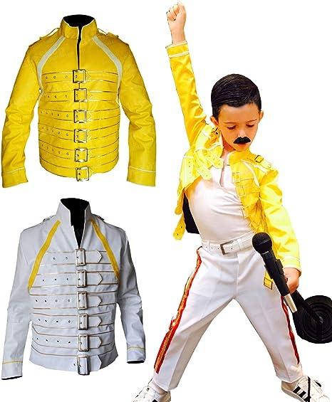 EU Fashions Freddie Mercury Jacket For Kids: Amazon.es: Ropa y ...