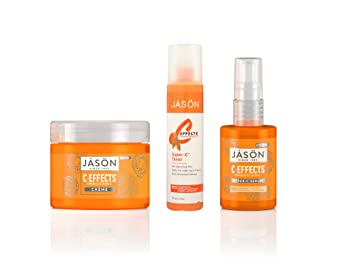 Amazon.com : JASON C-Effects Skincare Bundle. C-Effects Serum, Toner and Lotion for Anti-Aging Skincare and Hyperpigmentation. : Beauty
