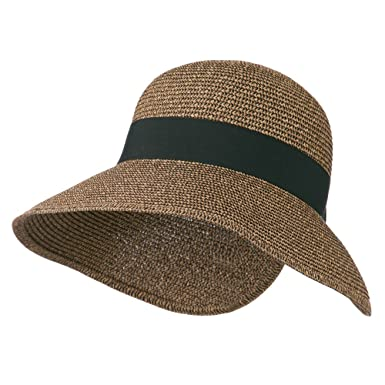 48253298 Amazon.com: Women's UPF 50+ V Back Sun Hat - Black OSFM: Clothing