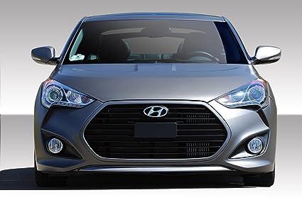 2012 2016 Hyundai Veloster Duraflex Turbo Look Front Bumper Cover 1 Piece