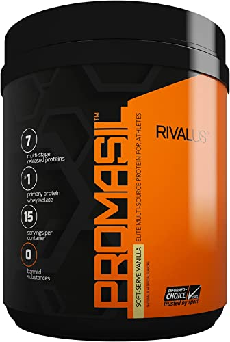 Rivalus Promasil Supplement, Vanilla, 1 Pound